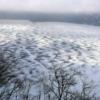 凍った摩周湖