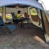 ワーケーション、夏のテント事務所