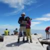 ジョンミューアトレイルの終点ホイットニー山頂
